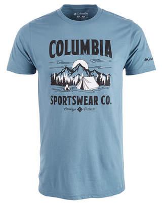 Columbia Men Tent Life Logo Graphic T-Shirt