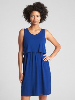 Gap Maternity Layered Nursing Dress