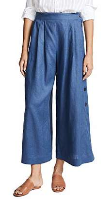 Mara Hoffman Women's Angie Button Side Culotte Pant
