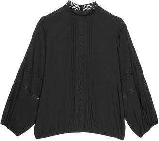 Black Label Wanda Long Sleeve Blouse