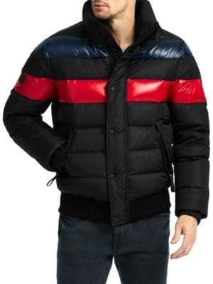 SAM. Icon Quilted Bomber Jacket