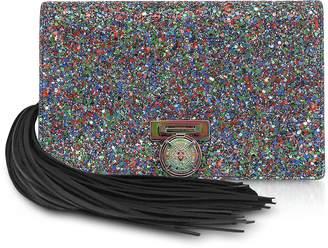 Balmain Multicolor Glitter BBox Mini Pouch