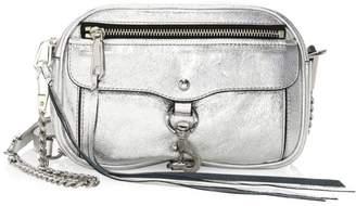 Rebecca Minkoff Blythe Distressed Metallic Leather Crossbody Bag