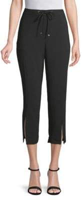 Laundry by Shelli Segal Cropped Crepe Pants