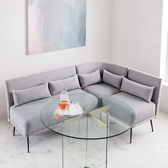 west elm Modern 3-Piece Banquette - Small