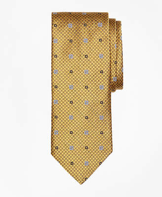 Brooks Brothers Houndstooth Medallion Tie