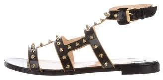 Christian Louboutin Spike Embellished Buckle Sandals