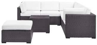 Crosley Biscayne 5-Piece Outdoor Wicker Seating Set