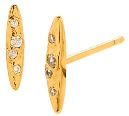 Gorjana Collette Marquise Stud Earrings