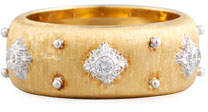 Buccellati 18k Eternelle Diamond Ring, Yellow Gold