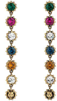 Gucci Pendant earrings with crystals