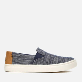 Toms Kids' Luca Chambray Slip-On Trainers