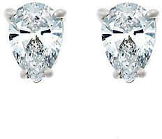 Affinity Diamond Jewelry Pear Diamond Stud Earrings, 14K, 1/4cttw, by Af