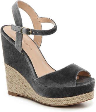 Zigi Caridee Velvet Wedge Sandal - Women's