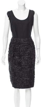 Dries Van Noten Textured A-Line Dress