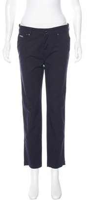 Twin.Set Mid-Rise Cropped Pants $70 thestylecure.com