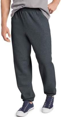Hanes Men's EcoSmart Elastic Bottom 32 Inch Inseam Sweatpants