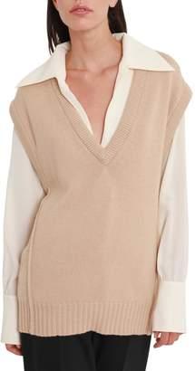 Chloé Cashmere Knit Oversized Vest