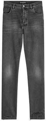 Balenciaga Sinners Distressed Jeans