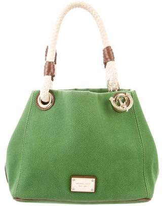 MICHAEL Michael Kors Leather-Trimmed Canvas Tote