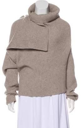 Celine Wool & Cashmere-Blend Knit Sweater