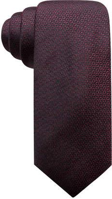 Alfani Men's Circle Dot Slim Silk Tie