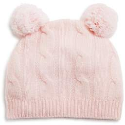 Bloomingdale's Bloomie's Infant Girls' Cashmere Cable Hat - 100% Exclusive