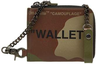 Off-White Off White Quote Chain Wallet