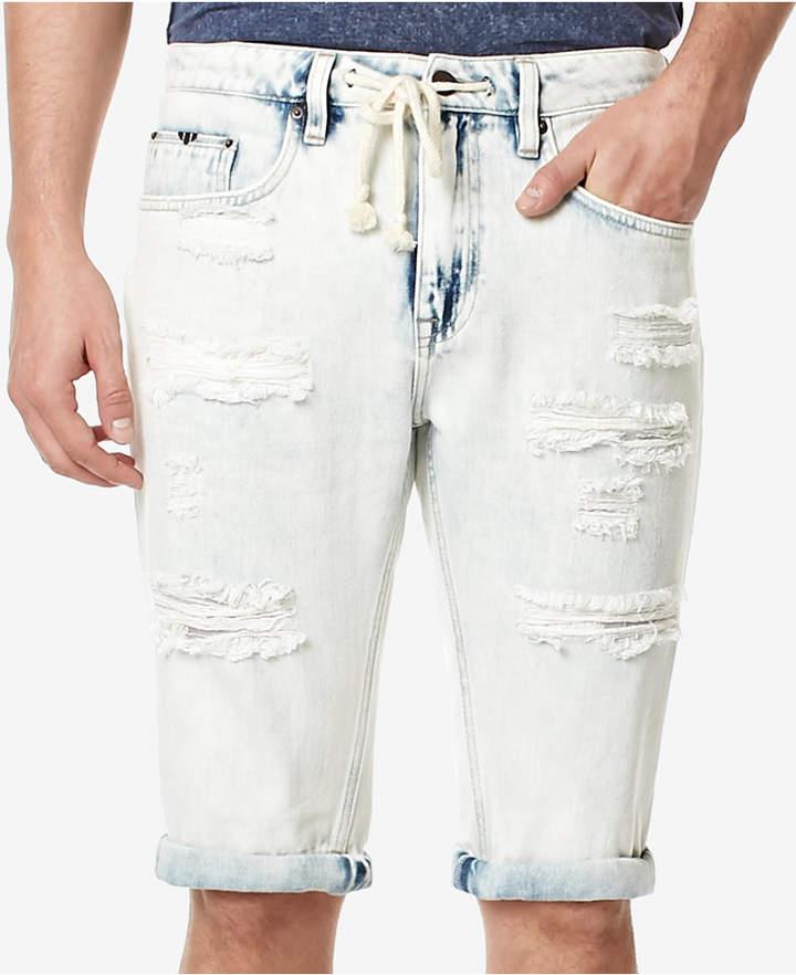 Buffalo David Bitton Men's PARKER-X Cotton Denim Shorts