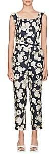 SIR The Label Women's Bellagio Floral Linen Jumpsuit - Blue