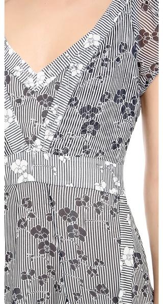 Diane von Furstenberg Heidi Tiered Dress