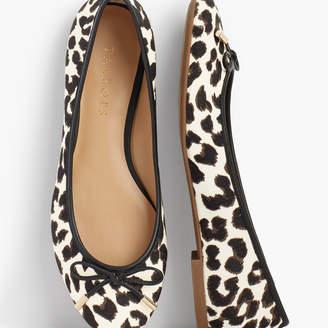 Talbots Olympia Ballet Flats - Leopard