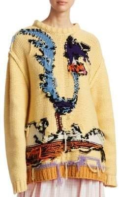Calvin Klein Hand Knit Looney Tunes Sweater