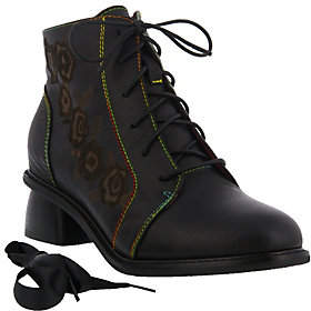 Spring Step L'Artiste by Leather Booties - Yadira
