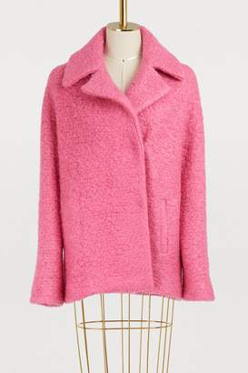 Roseanna Duncan virgin wool and mohair coat