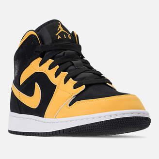 Nike Big Kids' Air Jordan 1 Mid Basketball Shoes