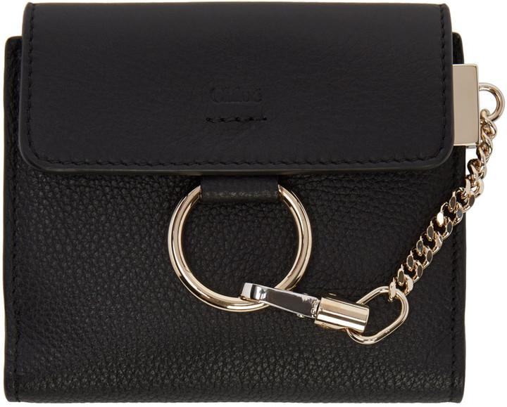 Chloé Chloé Black Small Faye Wallet