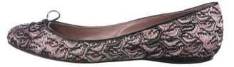 Missoni Knit Round-Toe Flats