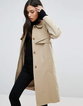 Cooper & Stollbrand Cooper & Stallbrand Folded Trench Coat $256 thestylecure.com