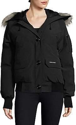 Canada Goose Women's Chilliwack Fur-Trimmed Bomber Jacket