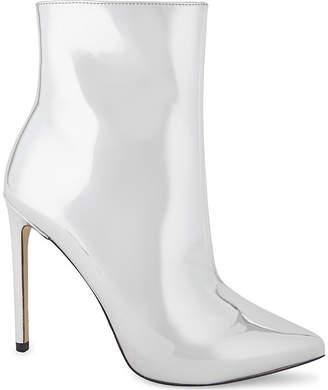 Aldo Loreni metallic high heeled boots
