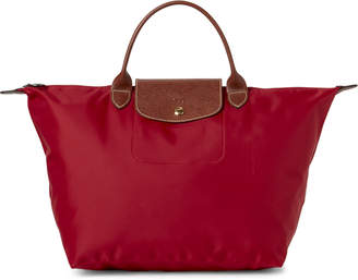 Longchamp Cherry Le Pliage Medium Satchel