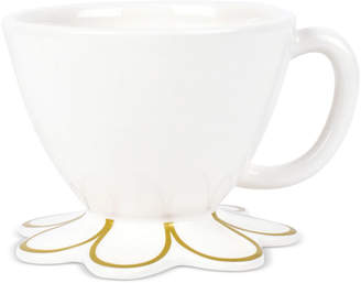 Coton Colors Scallop-Edge Gold Mug