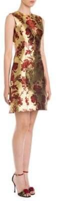 Dolce & Gabbana Sleeveless Jacquard Mini Dress