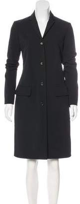 The Row Knee-Length Collared Coat