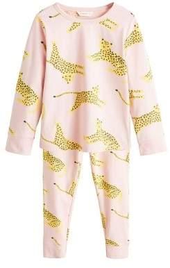 MANGO Printed long pyjamas
