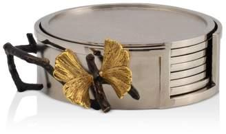 Michael Aram Butterfly Ginkgo Coaster, Set of 6