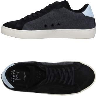 Leather Crown Low-tops & sneakers - Item 11271785AK