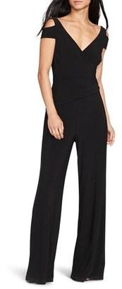 Women's Lauren Ralph Lauren Wide Leg Jersey Jumpsuit $149 thestylecure.com