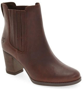 Women's Timberland 'Atlantic Heights' Chelsea Boot $159.95 thestylecure.com